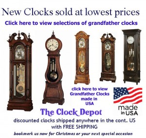 Grandfather Clocks Made in USA