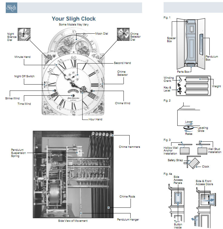 How to Build Build Grandfather Clock Instructions PDF Plans