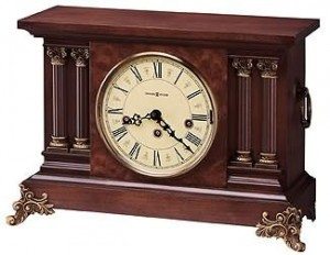 New Howard Miller Circa 630-212 Keywound Mantel Clock