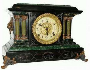Seth Thomas Adamantine clock 2