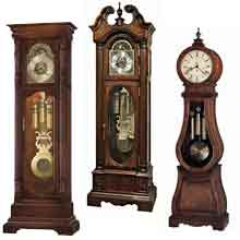 grandfather clock collection new howard miller