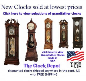 Grandfather Clocks on Sale