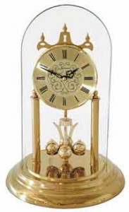 anniversary clock with dome