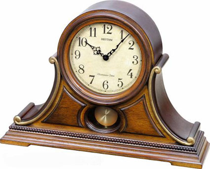 Rhythm CRJ733UR06 Tuscany II Chiming Musical Mantel Clock