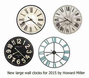 New Howard Miller Large Wall Clocks