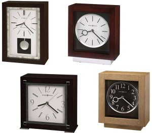 New Contemporary Mantel Clocks