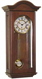 Hermle 70815-N90341 Brooke Cherry Keywound Wall Clock
