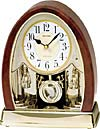 Crystal bells musical clocks