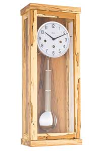 Hermle 70989-T30341 Wanduhr Chiming Wall Clock