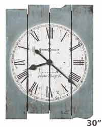 Mack Road Rustic Wall Clock