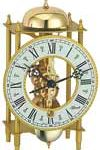 Hermle Gold Skeleton Clock