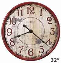 Back 40 Rustic Wall Clock