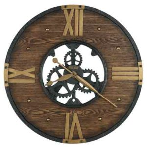 New Murano 625-650 Rustic Wall Clock